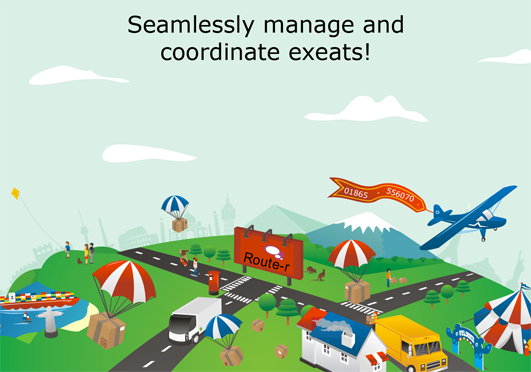 seamlessly manage and coordinate exeat requests