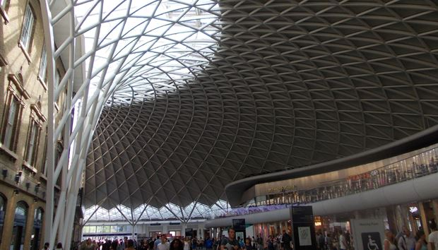 Did SEO results influence the design of the new Kings Cross Station?