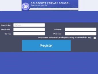 Caldecott Register Forms