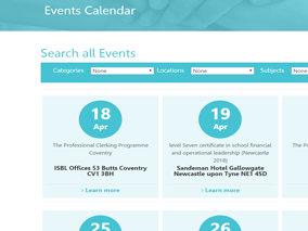 ISBL events