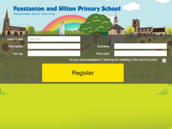 Fenstanton and Hilton Primary School Register DigiGreet