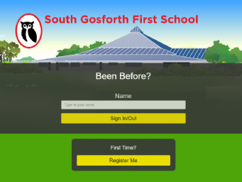 South Gosforth First School signing in